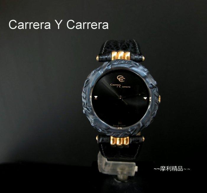 【摩利精品】Carrera Y Carrera 雙馬半金錶  *內行都知道* 低價特賣