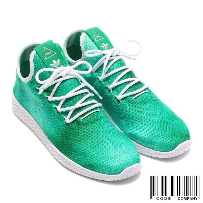 =CodE= ADIDAS PW HU HOLI TENNIS HU 渲染網球鞋(綠白)DA9619 菲董 男女 SAL