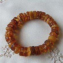 面賞 ~波羅的海100%天然琥珀原礦切片手串~  寶石鑑定報告書  手作飾品