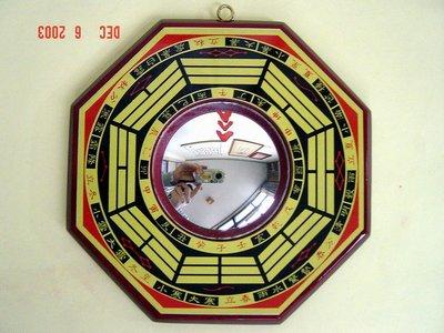 八卦凸鏡-已請老師開光加持並附上安置吉課及安置說明