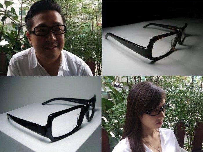 【信義計劃眼鏡】  Vioki 眼鏡 下拉式方框大框 黑色方框 超越 Lunor Tart
