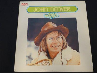 【柯南唱片】John Denver (約翰丹佛)//Gold Deluxe 兩片裝 >>日版LP
