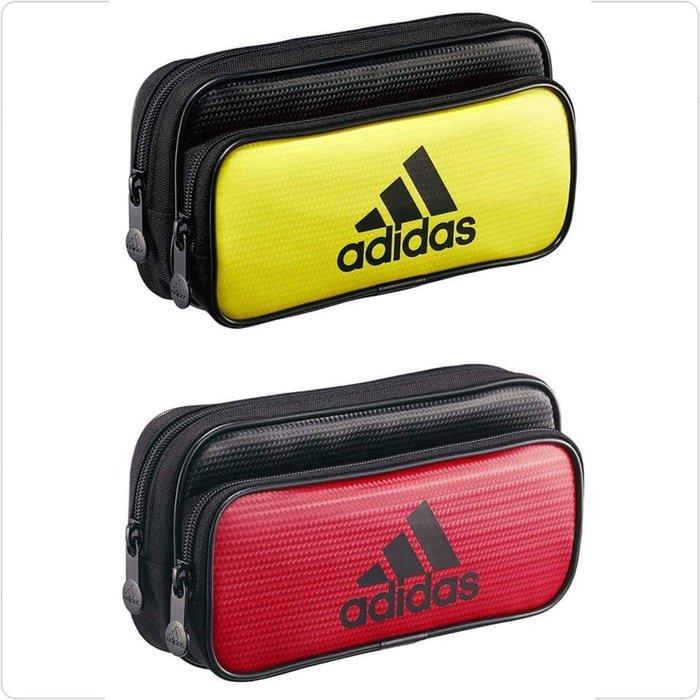 極上日貨  最新日本限定 愛迪達 adidas × UNI 聯名款 雙層大容量 收納袋/筆袋 2款 現貨