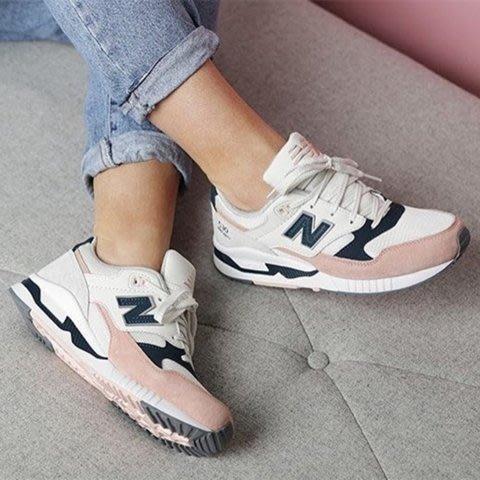 [小寶]New Balance NB530 NB 韓妞必備 麂皮 復古 休閒 慢跑鞋 W530SC 女 粉白