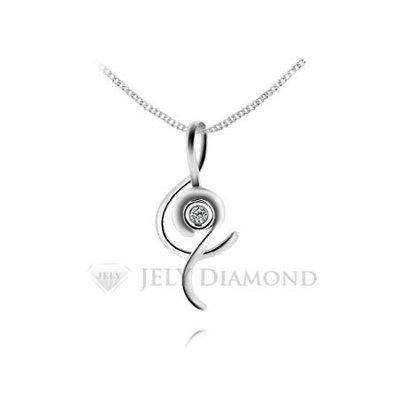 《JELY時尚館》【JELY Diamond】蕭邦最愛---3分天然真鑽石項鍊 §會員終生獨享交換維修優惠§