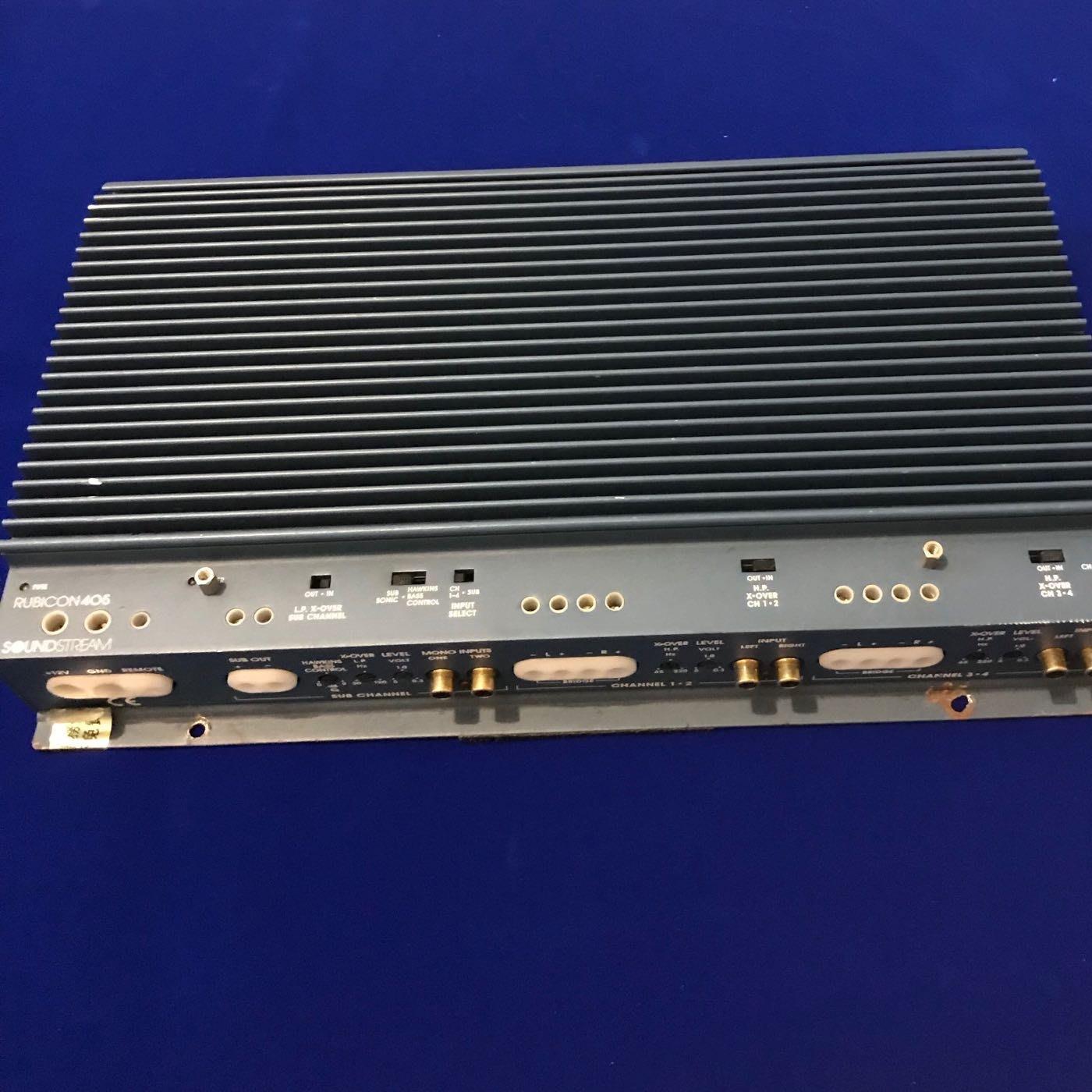 經典銘機 soundstream rubicon405 5聲道擴大機
