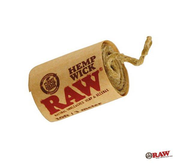 GOODFORIT/ 西班牙 RAW Hemp Wick Roll 蜂蠟麻繩