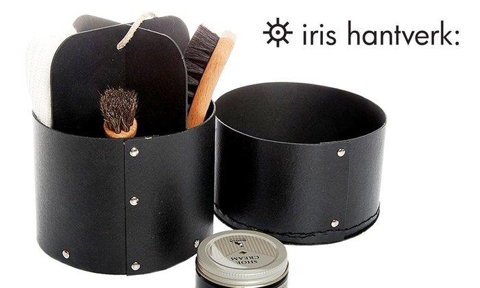 GOODFORIT / 百年瑞典頂級手工刷具廠牌Iris Hantverk Shoe Care Box鞋靴保養套組
