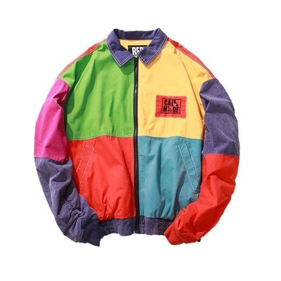 【Result】RDCC 90's 复古波普多色防风夹克外套 艾福杰尼著用款 中国有嘻哈