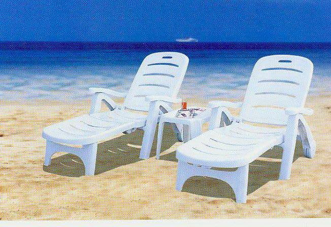 【艷陽庄】塑膠躺椅(單椅)  休閒桌椅/塑膠桌椅/休閒傢俱/戶外桌椅/啤酒桌/和室桌/咖啡桌/折合桌