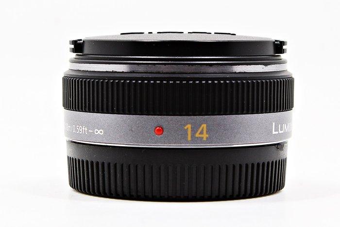【高雄青蘋果3C】Panasonic LUMIX 14MM F2.5 G ASPH M4/3 定焦鏡  #10690