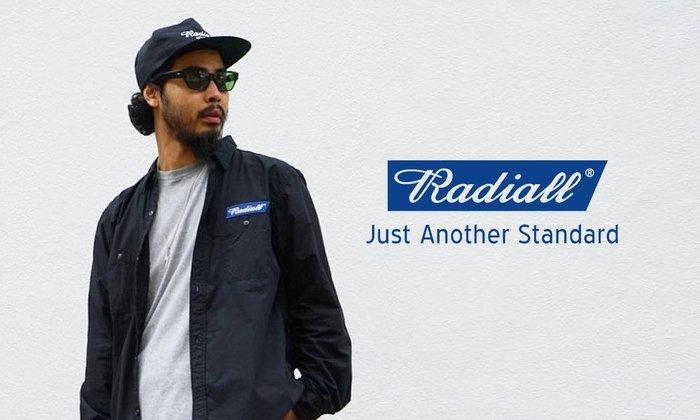 GOODFORIT / 日本品牌Radiall Cruise Trucker Cap品牌Logo電繡帽款/兩色