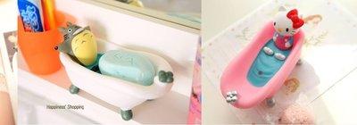Hello Kitty 龍貓 拉拉熊 肥皂盒 凱蒂貓 豆豆龍 皂盒 浴盆 浴缸
