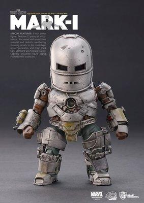 JAMES ROOM#正版EAA-003 鋼鐵人3 鋼鐵人馬克1 Mark1 MARVEL10周年