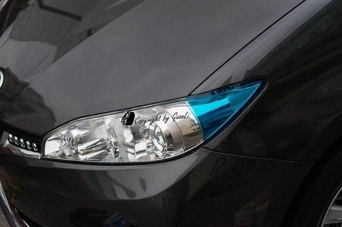 「直購賣場」 GuanLi 冠立 13年 NEW WISH 前角燈貼膜 直上 可DIY 進口透光材質專屬賣場 顏色可訂製