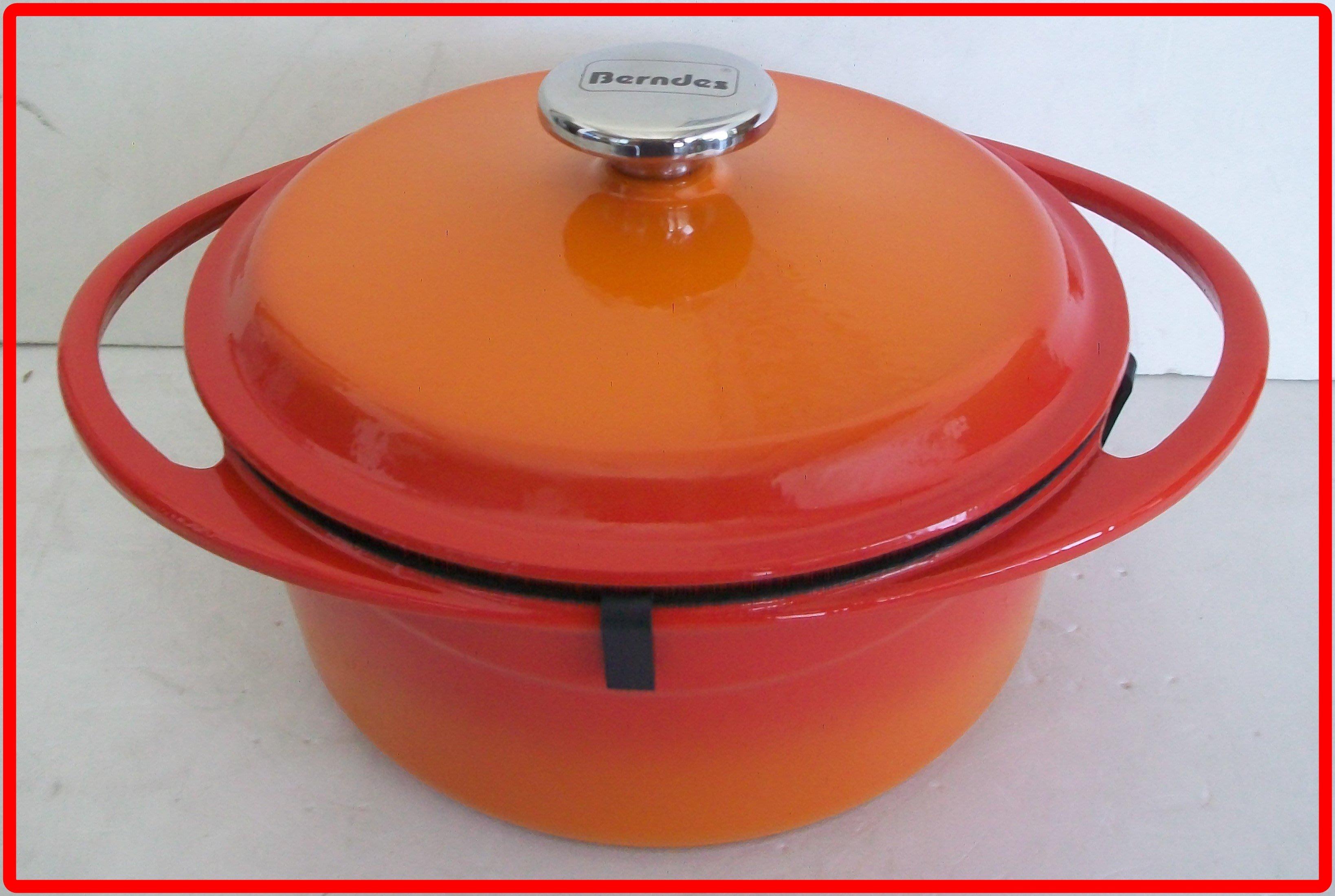 寶迪 鑄鐵鍋 berndes 24cm