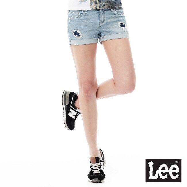 Lee短褲涼感透氣短褲