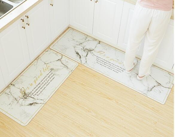 ❀蘇蘇購物館❀廚房長條地墊防滑墊 防水防油腳墊 如畫款