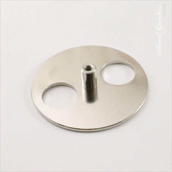 Sweet Garden, 音樂鈴 音樂盒DIY 讓音樂盒旋轉起來的圓形鐵盤Key 取代發條 台中自取