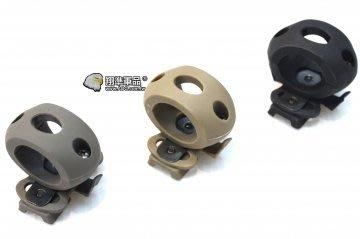 【翔準軍品AOG】 頭盔槍燈夾25mm...