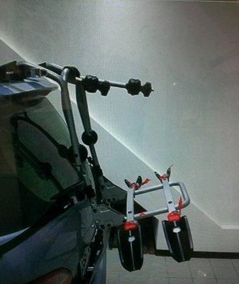 ㊣TIN汽車配件㊣ 2代 新MAZDA 5 馬5 後背式 攜車架 休旅車 單車架 自行車架.不擋導流板
