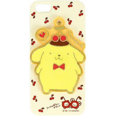 尼德斯Nydus~* 日本正版 三麗鷗發行 布丁狗 正面側開式 附小鏡子 手機殼 iPhone5 5S