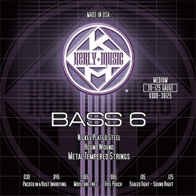 ☆ 唐尼樂器︵☆ Kerly Strings 冰火弦 KQXB-30125 (30-125) 美製 Bass 電貝斯弦(6弦/六弦用)