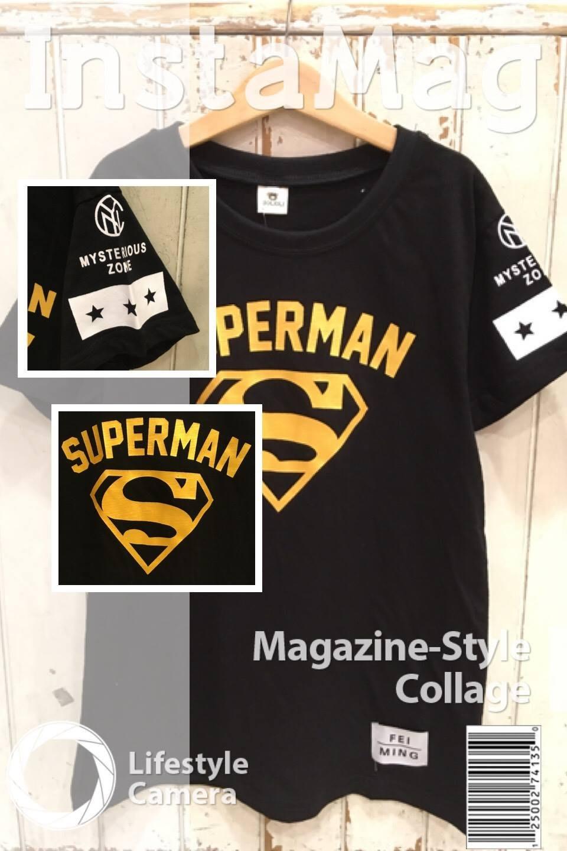 男大童 大童 SUPERMAN燙金帥氣短袖上衣 T恤 120-170