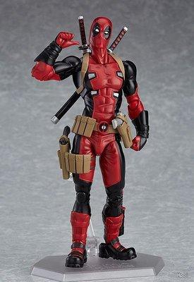 【紫色風鈴3.3】動漫Deadpool Figma 353 死侍反英雄可動盒裝 港版