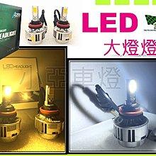 小亞車燈~ LED 大燈 燈泡 H1 H4 H7 H11 9005 9006 規格 W14