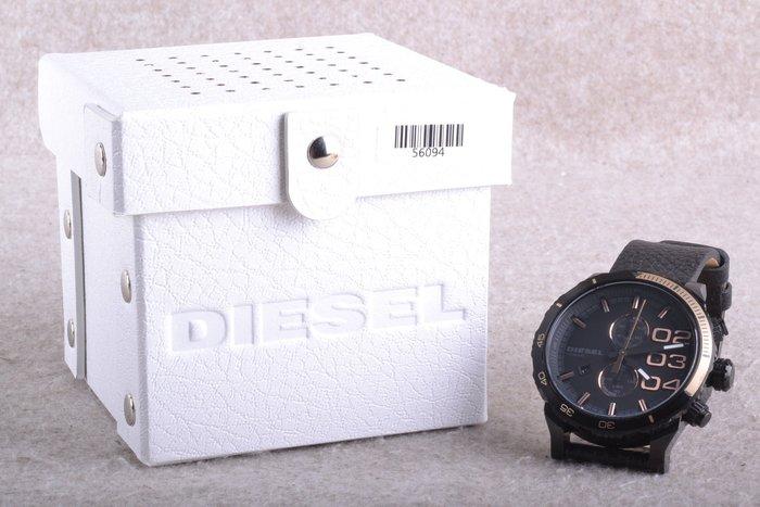 【品光攝影】Diesel DZ4327 50mm 雙環計時碼錶 石英錶 黑色 FF#56094