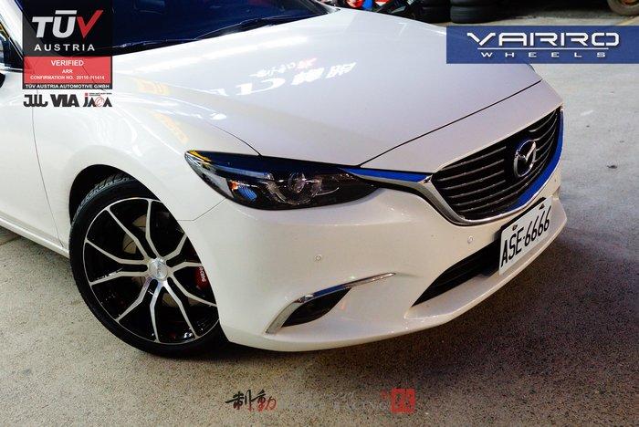 美國 VARRO VD-01 TUV認證 高品質精緻鋁圈 客製化訂製 各車款規格 歡迎詢問 / 制動改