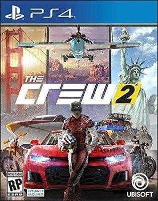 【預購商品】PS4 飆酷車神 2 動力世界 The Crew 2 中文版 預購第二批【台中恐龍電玩】