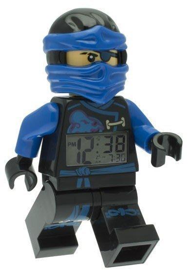 現貨可超取【LEGO 樂高】全新正品/ 藍忍者鬧鐘 Ninjago 旋風忍者 數字時鐘 JAY 人偶 公仔 含原廠盒