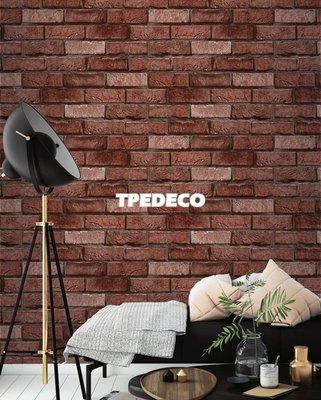 【大台北裝潢】PT馬來西亞現貨壁紙* 環保建材 仿建材 磚頭文化石(4色) 每支580元