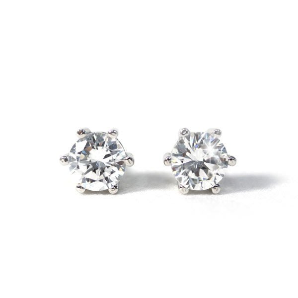 NATELA 純銀925銀飾 高級鋯石耳環 閃耀熱銷款 璀璨閃耀 韓國流行款 經典簡約白鑽