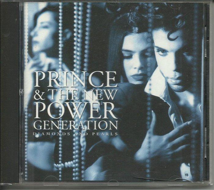 PRINCE & THE NEW POWER GENERATION DIAMONDS AND PEARLS CD_德國製