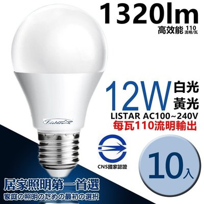 10入免運費 LISTAR嚴選 LED...
