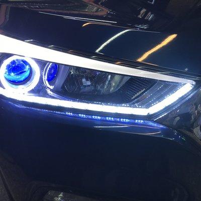 JK極光LED導光條WISH淚眼FIT  TIIDA大燈Luxgen九代EX新馬5 OUTLANDER  tucson