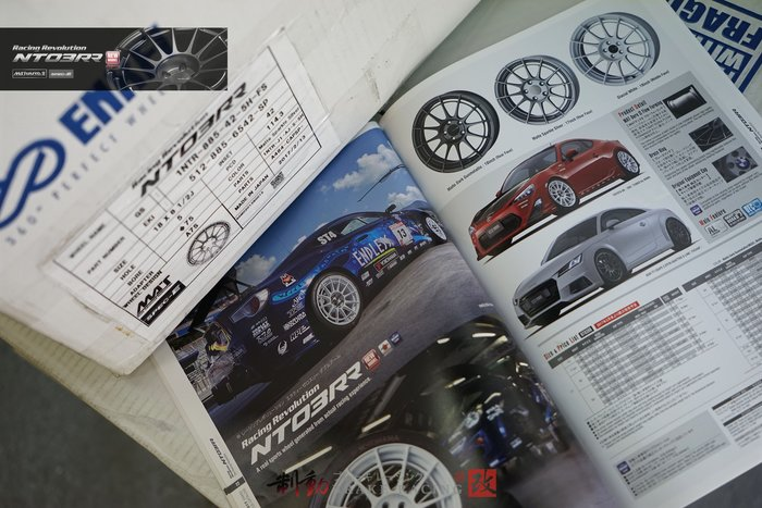ENKEI Racing Revolution NT03RR 5x114.3 日製經典再進化 各規格歡迎詢問 / 制動改