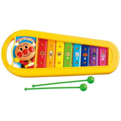 GIFT41 4165本通 三重店 麵包超人 木琴 樂器 兒童玩具