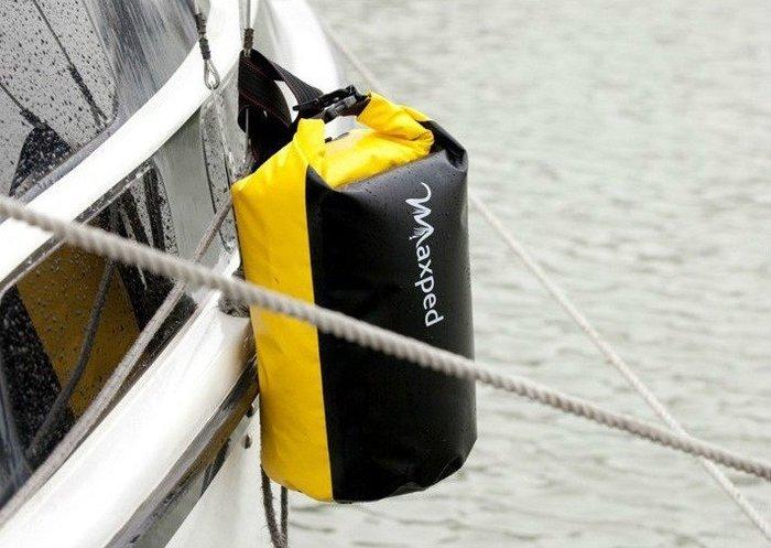 Maxped 法國品牌 衝浪袋 潛水袋 防水袋 手機錢包證件數位相機袋 60公升 大型書包旅行袋(單肩款)