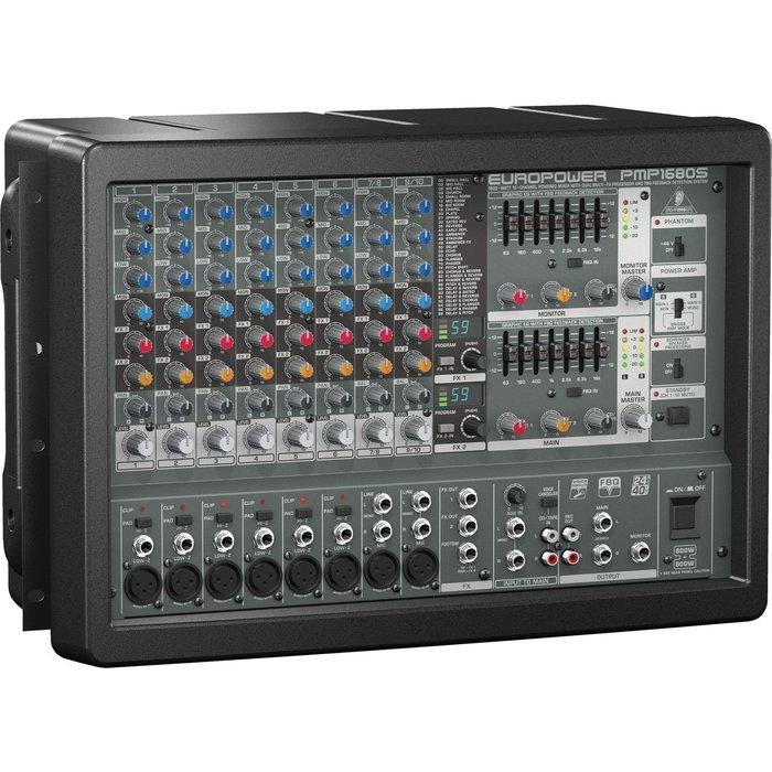 【六絃樂器】全新 Behringer EUROPOWER PMP1680S 功率混音器 / 舞台音響設備 專業PA器材