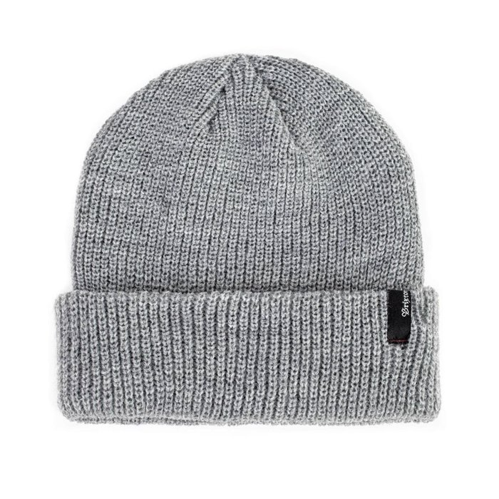 《Nightmare 》BRIXTON HEIST BEANIE - LIGHT HEATHER GREY