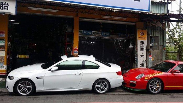 BMW e92 335 跑車排氣管 BMW總代理 2門跑車 335ci 原廠排氣管