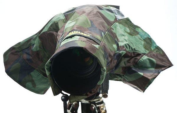 呈現攝影-SAMARK 迷彩相機雨衣(豪華長鏡頭型) 防風雨 防塵 防寒 小白 小小白 小黑六 70-200