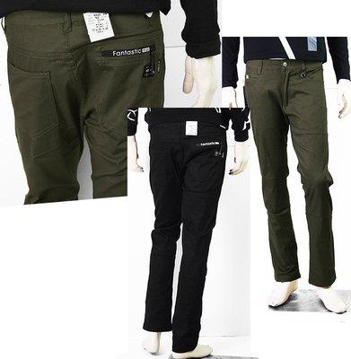 【肚子大】B746-休閒長褲/裝飾拉鍊/前吊環/前後袋#3件990