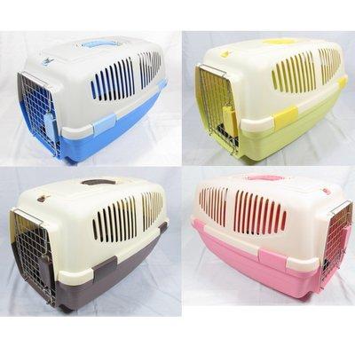 【優比寵物】時尚義大利(L款)C615運輸籠/飛機籠/提籠/手提籠/寵物籠/外出籠