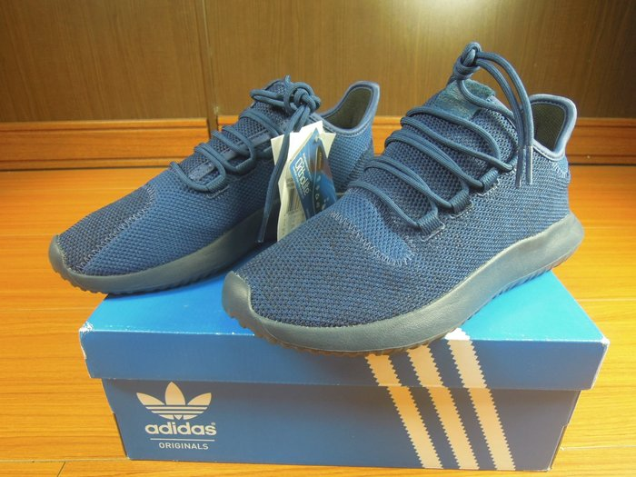 假鞋賠10萬adidas Tubular Shadow Knit yeezy boost BB8825 藍色