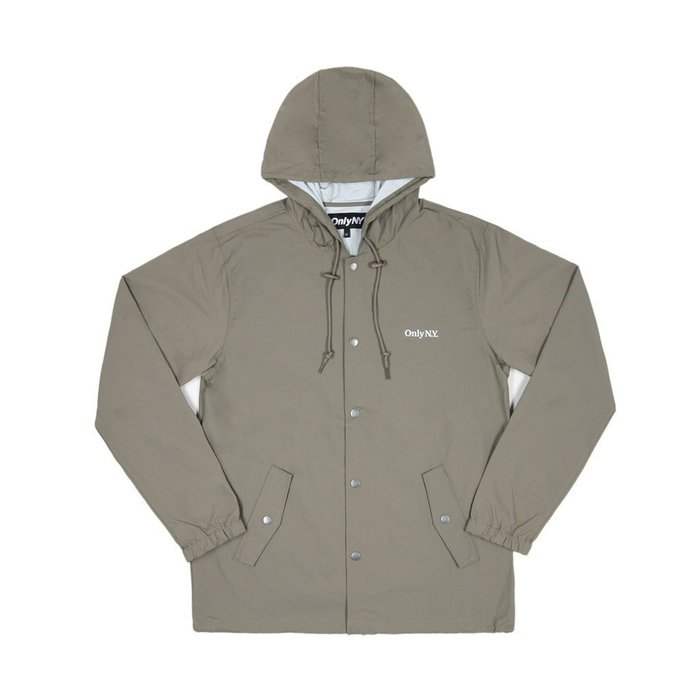 《Nightmare 》ONLY NY Lodge Hooded Coach Jacket - Taupe